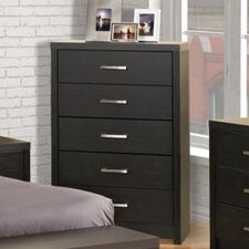 Reiby 5 Drawer Chest by Latitude Run