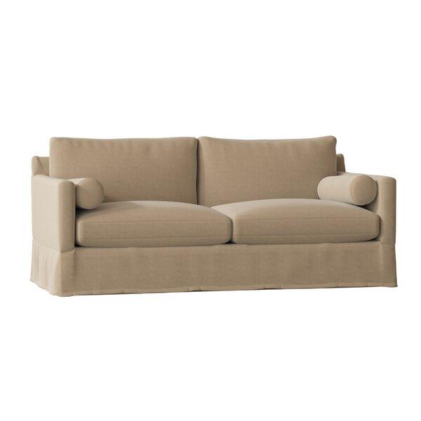 Hayes 84.5 Square Arm Sofa