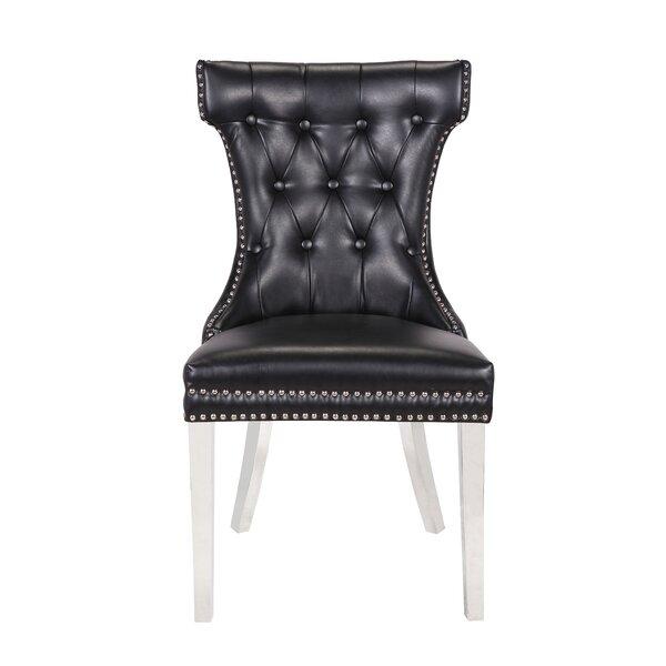Aveline Upholstered Dining Chair (Set of 2) by Rosdorf Park Rosdorf Park