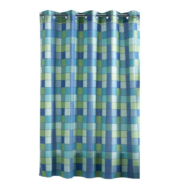 Hammann Eyelet Shower Curtain by Winston Porter