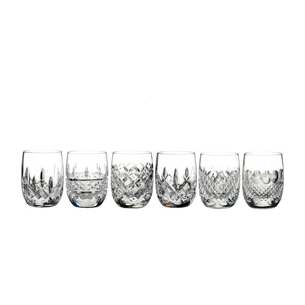 Lismore Connoisseur 6 Piece 7 oz. Crystal Cocktail Glass Set by Waterford
