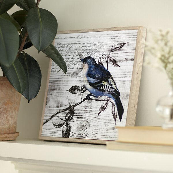 Blue Birds Wall Art II by Birch Lane™