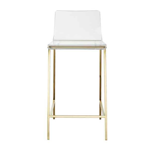 Lavalley 26'' Counter Stool by Everly Quinn Everly Quinn
