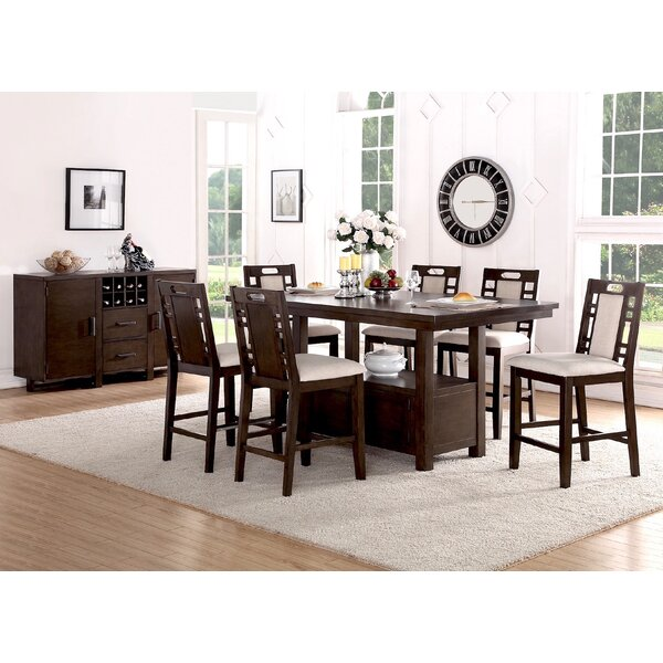 Steiner 7 Piece Dining Set by Canora Grey