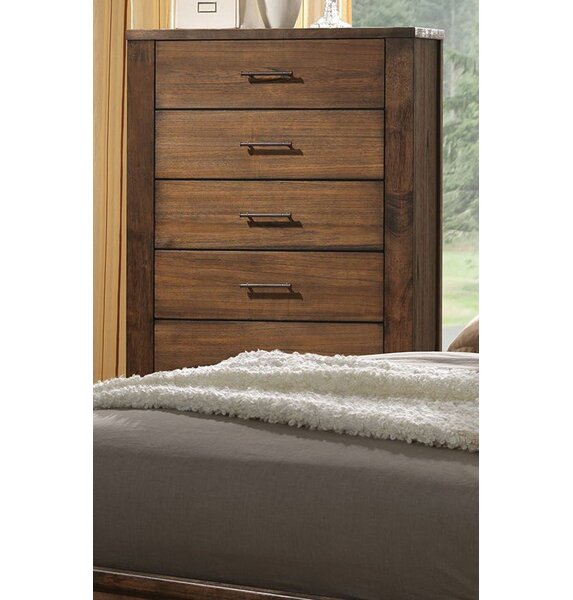 Zoey 5 Drawer Chest by Foundry Select