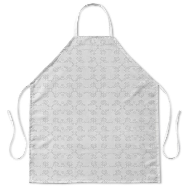 Neutral Connected Floral Apron by Latitude Run