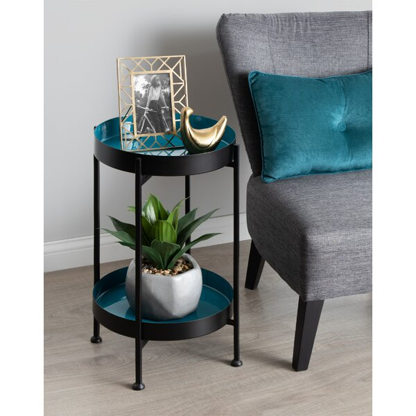 Antonne Side End Table by Brayden Studio Brayden Studio