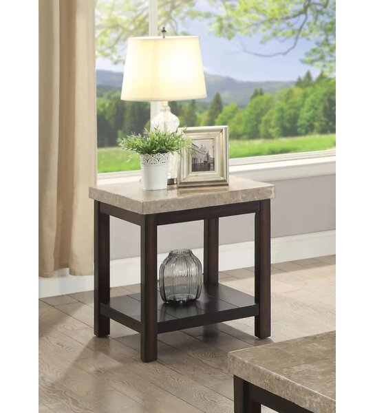 Cricklade End Table by Canora Grey
