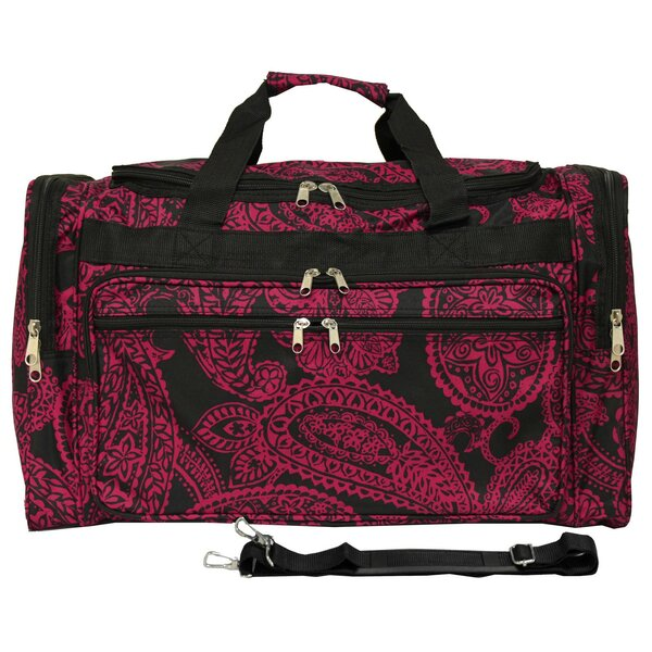 Paisley 22 Travel Duffel by World Traveler