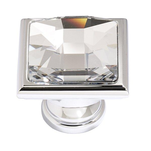 Swarovski Crystal Square Knob by Alno Inc