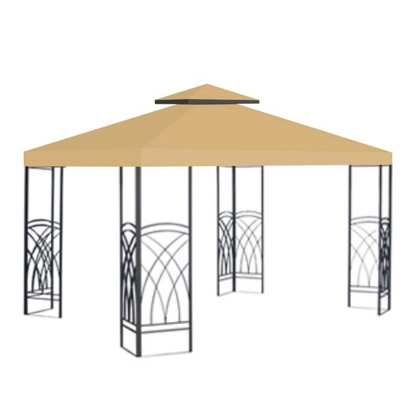 Replacement Sunshade Double Tier Canopy Top Patio Pavilion Cover by Sunrise Outdoor LTD