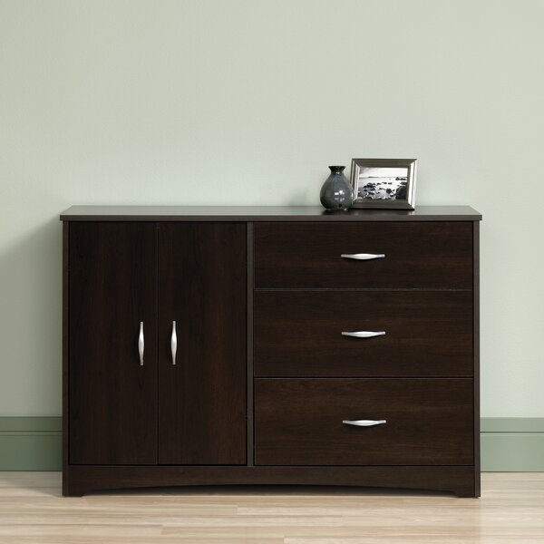 Everett 3 Drawer Combo Dresser by Zipcode Design