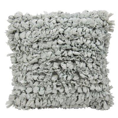Lark Manor Eillet Throw Pillow Color: Silver