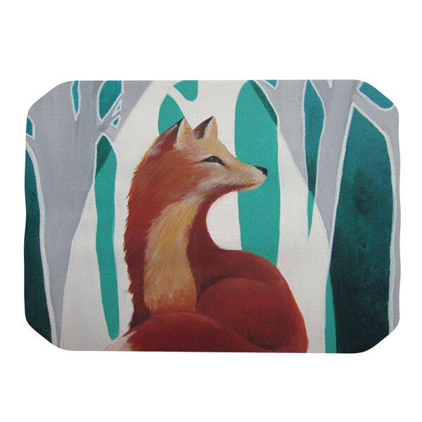 Fox Forest Placemat by KESS InHouse