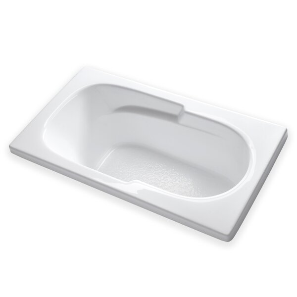 Hygienic 60 x 32 Soaking Bathtub by Carver Tubs