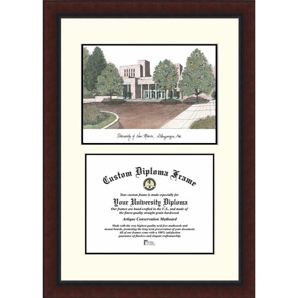 NCAA University of New Mexico Legacy Scholar Diploma Picture Frame by Campus Images