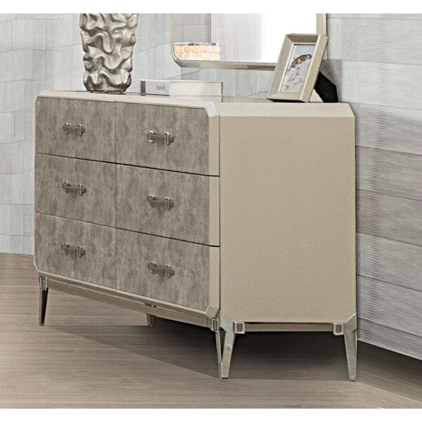 Linklater 6 Drawer Double Dresser by Brayden Studio