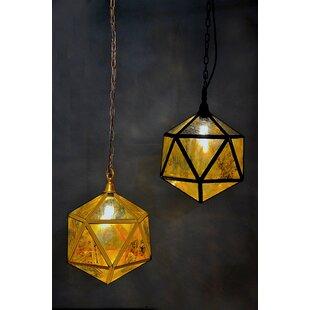 mercury glass lighting fixtures. Prisim Mercury Glass 1-Light Globe Pendant Lighting Fixtures
