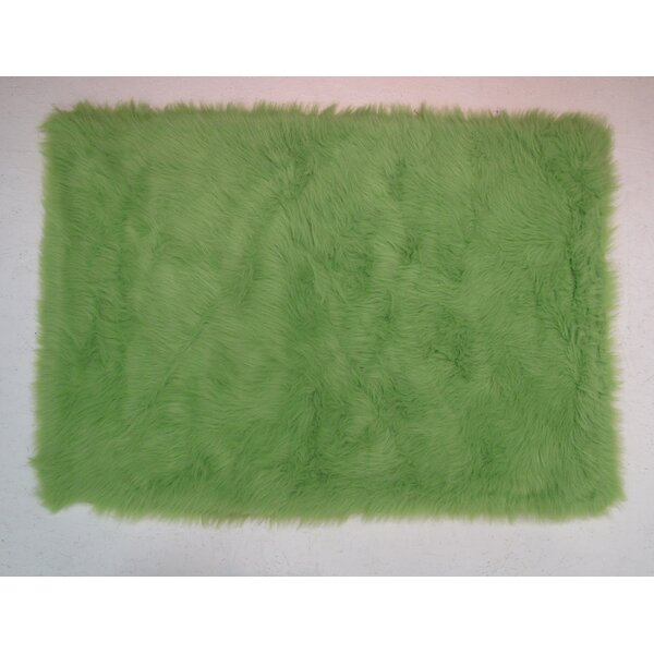 Lime Green Kids Rug by Fun Rugs