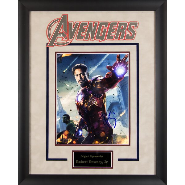 Avengers Framed Autographed Photograph by LuxeWest