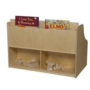 Reading Wood Storage Bench