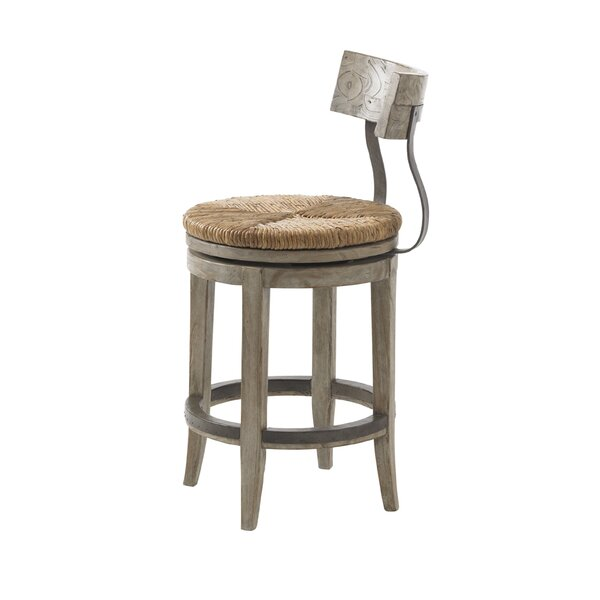 Twilight Bay 24 Swivel Bar Stool by Lexington