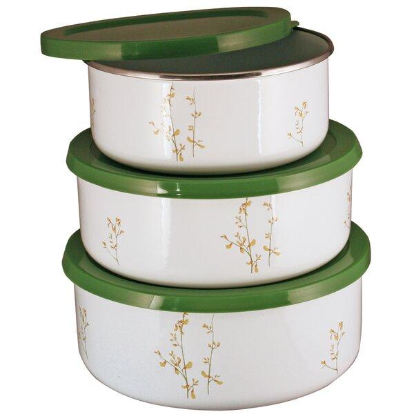 Corelle Coordinates 3 Container Food Storage Set by Corelle