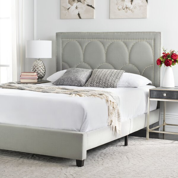 Clausen Upholstered Platform Bed by House of Hampton