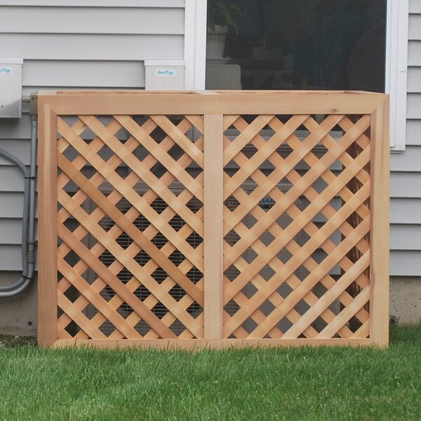 Wood Lattice Panel Trellis by Grown For You
