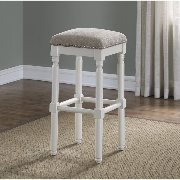 Leshia Backless Bar Stool by Ophelia & Co.
