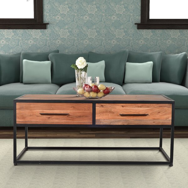 Henri Coffee Table with Storage by Union Rustic Union Rustic