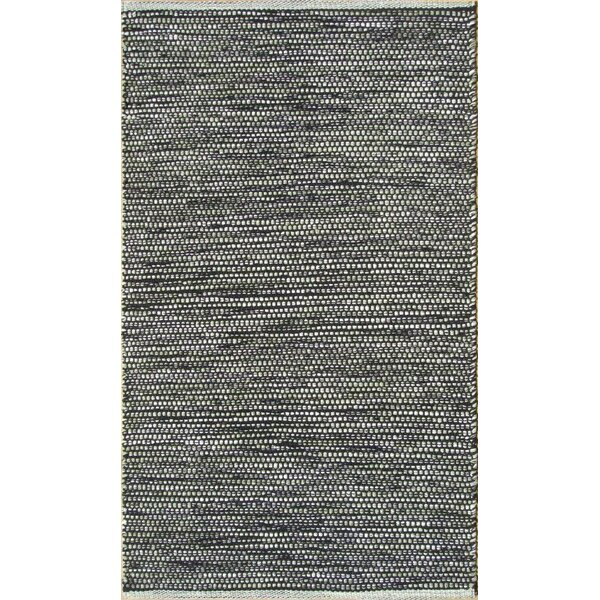 Parker Hand-Woven Gray Area Rug by Rosecliff Heights