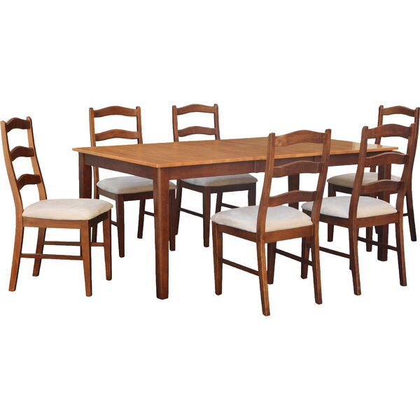Lindstrom 7 Piece Dining Set by Red Barrel Studio