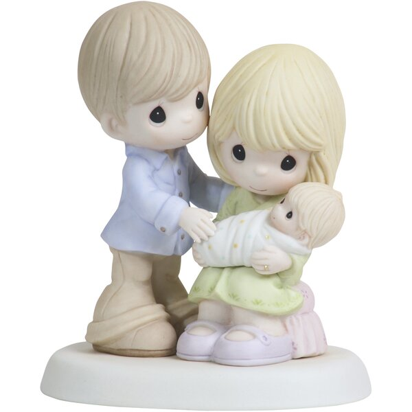 """In Our Hearts from the Very Start"" Figurine by Precious Moments"