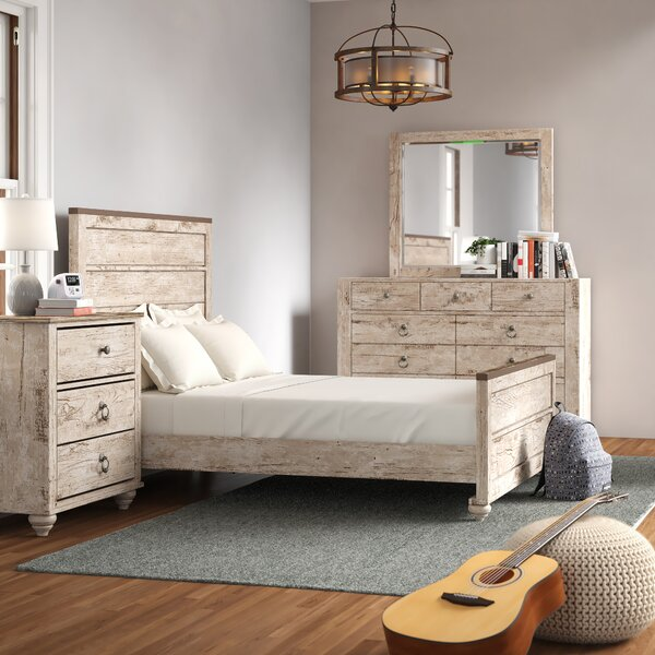 Tavistock Standard Solid Wood 3 Piece Bedroom Set by Three Posts Teen