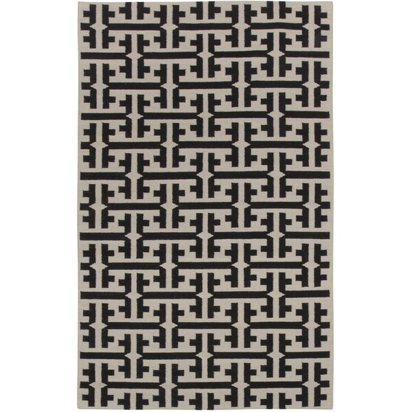 Grecian Deep Grey Geometric Area Rug by Genevieve Gorder Rugs