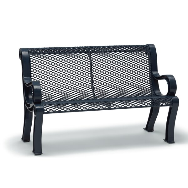 Estate Series Iron Park Bench by Wabash Valley