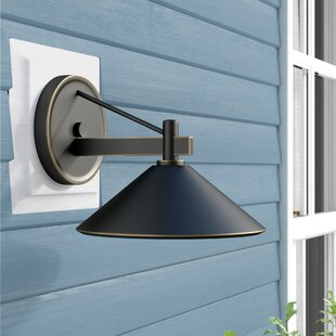 Great choice Bush 1-Light Outdoor Sconce By Longshore Tides