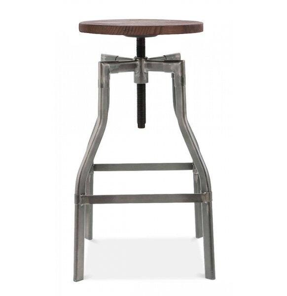 Machinist Adjustable Height Swivel Bar Stool by Design Lab MN