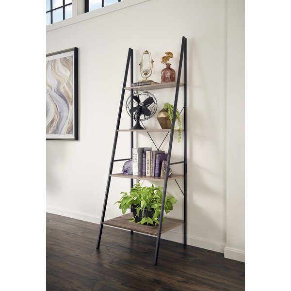 Almanzar Ladder Bookcase By Mercury Row.