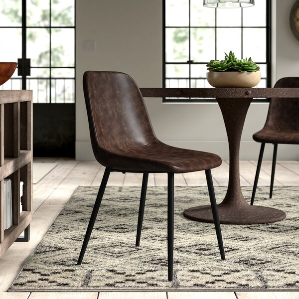 Haymarket Upholstered Dining Chair by Greyleigh