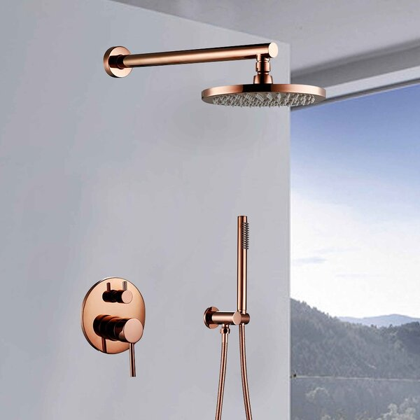Sierra Volume Control Complete Shower System with Rough-in Valve by FontanaShowers FontanaShowers