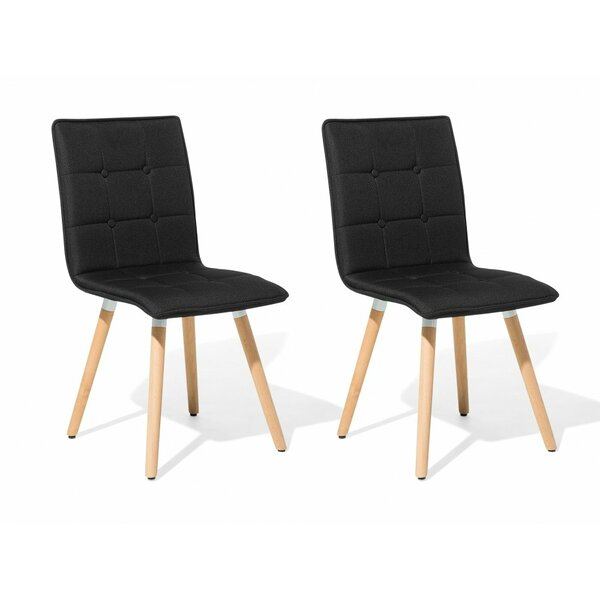 Bivens Upholstered Dining Chair (Set of 2) by Wrought Studio