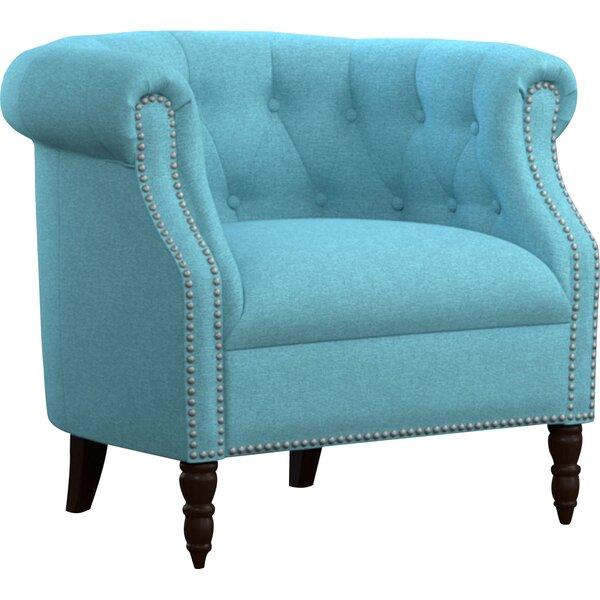 Three Posts Huntingdon Barrel Chair Amp Reviews Wayfair