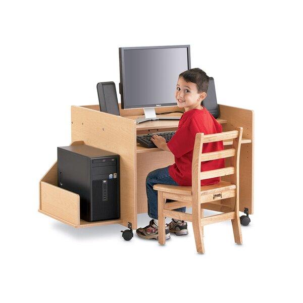 ThriftyKYDZ 15 H x 11 W Desk CPU Holder by Jonti-Craft