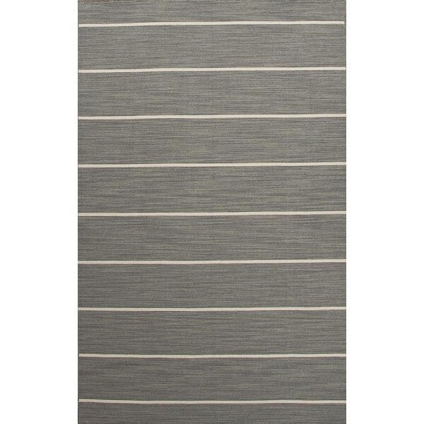 Templeton Gray/Ivory Stripe Area Rug by The Twillery Co.