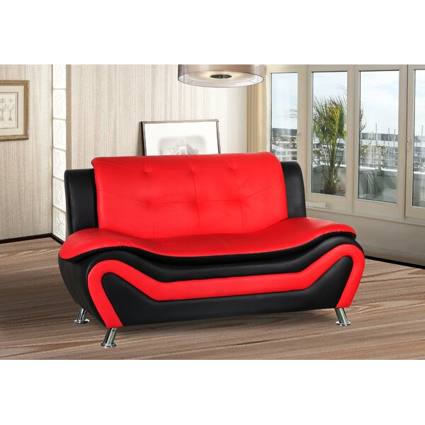 Bobo Living Room Loveseat by Orren Ellis