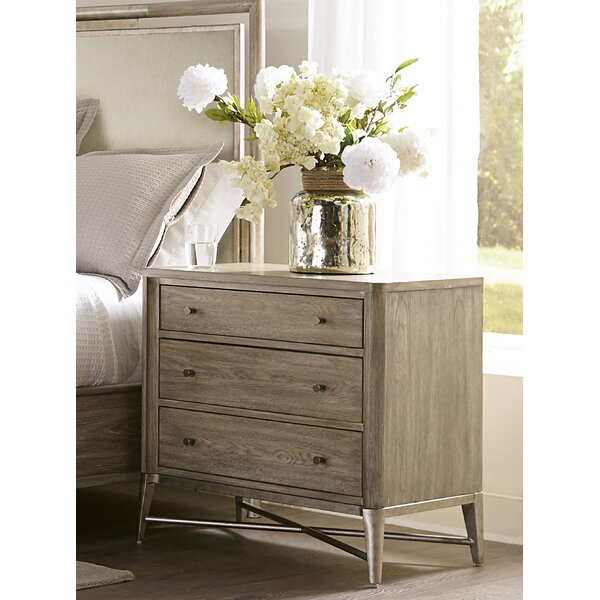 Dilbeck 3 Drawer Nightstand by Brayden Studio