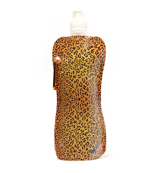 Brixton Leopard Pattern Pocket Water Bottle by Winston Porter