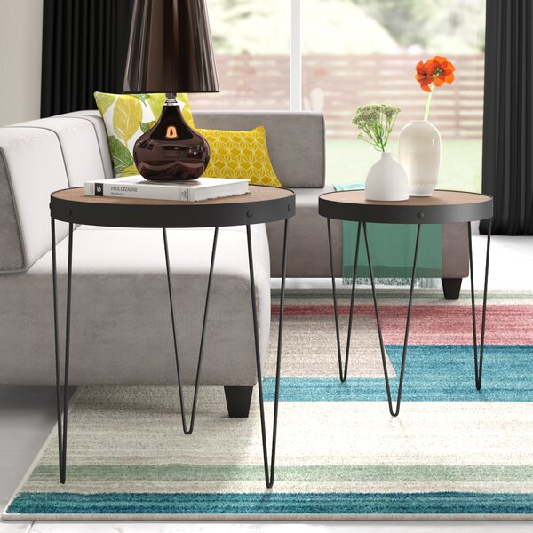 Courtland 2 Piece Nesting Tables By Ivy Bronx